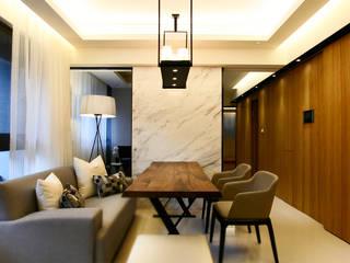 Modern dining room by 璞碩室內裝修設計工程有限公司 Modern