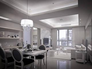 Scandinavian style living room by 璞碩室內裝修設計工程有限公司 Scandinavian