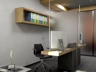 Arq. Rodrigo Culebro Sánchez Modern style study/office
