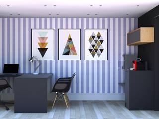 Opção de utilização como escritório:   por Casa Container Marilia - Arquitetura em Container