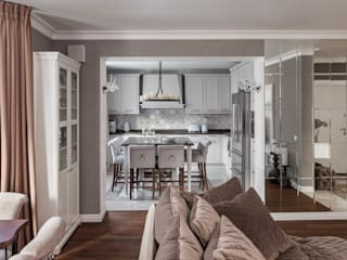 mlynchyk interiors Kitchen Grey