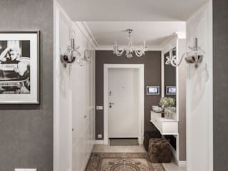 Classic style corridor, hallway and stairs by mlynchyk interiors Classic
