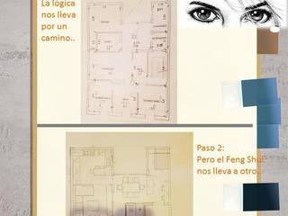 Los expertos de área feng shui, vemos lo que no se ve, creando espacios armoniosos, que garantizan la felicidad del que los usa. Salones de estilo ecléctico de Area Feng Shui Ecléctico