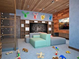Дом с видом на Кавказские горы: Детские комнаты в . Автор – Архитектура Интерьера