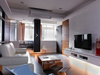 Salon moderne par 采金房 Interior Design Moderne