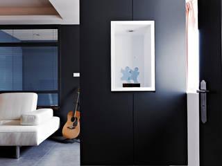 美式都會的時尚風格-寫意人生的輕快節奏 采金房 Interior Design 現代風玄關、走廊與階梯