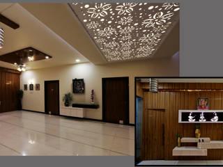 Three Storey Grand Residence @Paota,Jodhpur Modern living room by RAVI - NUPUR ARCHITECTS Modern