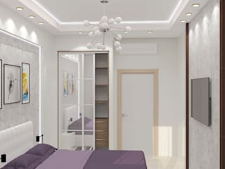 Minimalist bedroom by DONJON Minimalist