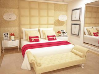 Quartos modernos por GRAÇA Decoração de Interiores Moderno