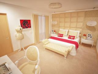 GRAÇA Decoração de Interiores غرفة نوم
