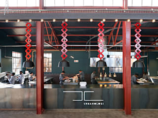 Mad Giant brewery and restaurant:  Gastronomy by Haldane Martin Iconic Design,