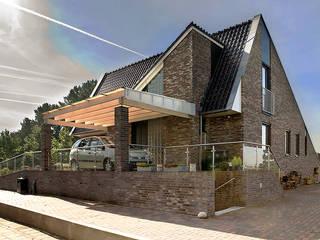 Woonhuis Sondel Landelijke huizen van Sipma Architecten Landelijk