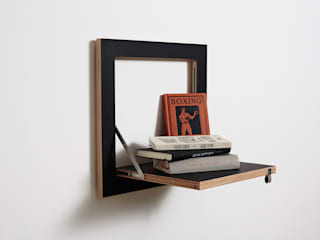 AMBIVALENZ Living roomStorage Plywood Black