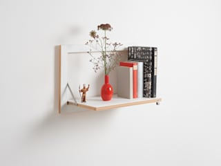 AMBIVALENZ Living roomStorage Plywood White