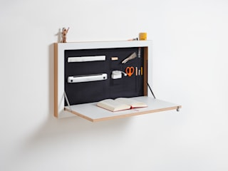 AMBIVALENZ Study/officeDesks Plywood White