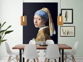 Muurmeesters - Girl with a pearl earring:   door Muurmeesters