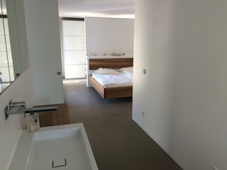 Bedroom by architekturbüro holger pfaus