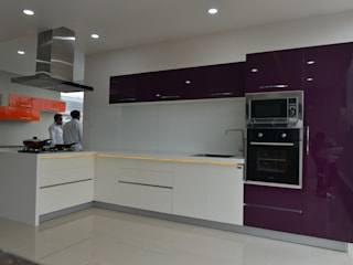 NIKHILBHAI  -KITCHEN -ANAND: asian  by ASADA DECOR PVT.LTD,Asian