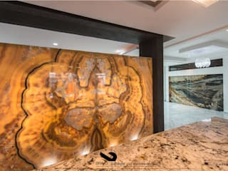 ZONA PLATEADA: Salas de estilo  por BRAVO ARQUITECTOS INGENIEROS
