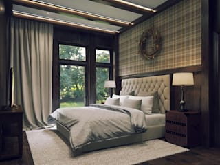 classic Bedroom by META-architects архитектурная студия