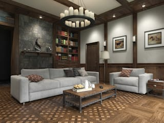 classic Living room by META-architects архитектурная студия