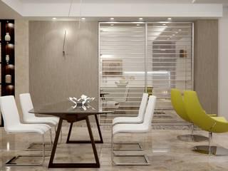 3 AMBIENTI IN 1 : Soggiorno in stile  di FRANCKSONN HOME srls, Moderno