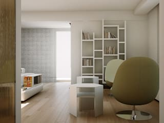 MINIMAL WHITE HOUSE : Ingresso & Corridoio in stile  di FRANCKSONN HOME srls, Minimalista
