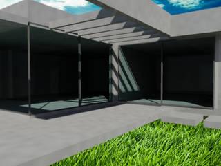 Vivienda en Portal de Boedo - Maipú: Casas de estilo  por CALVENTE - TIÓN Arquitectas