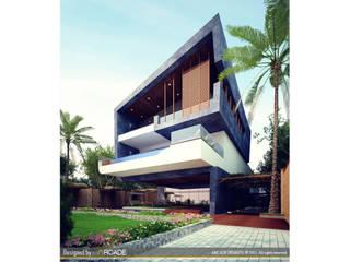 Casas de estilo minimalista de ARCADE DESIGNS Minimalista