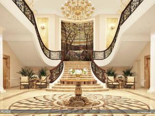 Pasillos, vestíbulos y escaleras clásicas de ARCADE DESIGNS Clásico