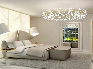 Bedroom Interior Design:  Bedroom by Lena Lobiv Interior Design