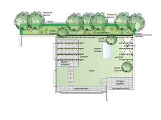 Renovation of an atrium garden by Sabine Friedrich gartenplanung & design