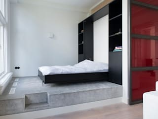 industrial Bedroom by IJzersterk interieurontwerp