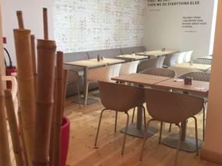 "Smoothie Bar ""HELIXIR"" STRASBOURG aDesign Aménagement Gastronomie scandinave"