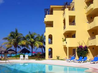 HOTEL PLAYA AZUL Albercas mediterráneas de Diseño Aplicado Avanzado de Guadalajara Mediterráneo
