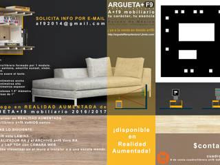 modern  by argueta+f9 arquitectura, Modern