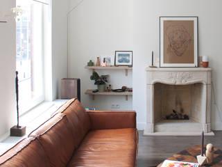 Etage woning Den Haag Scandinavische woonkamers van Studio Buijs Scandinavisch