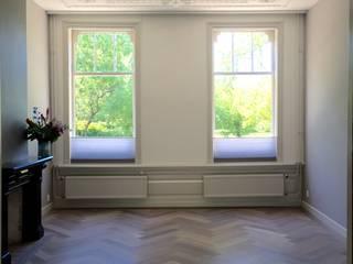 Herenhuis Gouda Landelijke woonkamers van Studio Buijs Landelijk