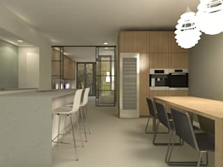 Modern kitchen by Studio DEEVIS Modern