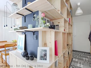 MON OEIL DANS LA DECO Scandinavian style corridor, hallway& stairs
