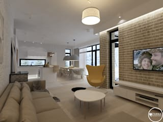 Salon de style  par Tarna Design Studio
