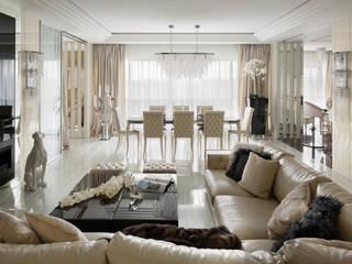 Modern Living Room by Дизайн-студия 'Привилегия' Modern