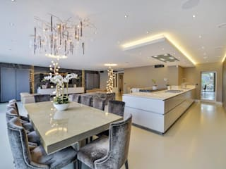 Such Designs Private Residence (UK) / Serip Lighting Serip SoggiornoIlluminazione