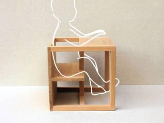 tabouret siège bébé Kubkid par nicolas baleydier design Scandinave
