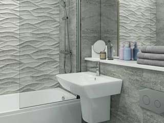 White Crow Studios Ltd Bathroom Portfolio Modern Bathroom by White Crow Studios Ltd Modern
