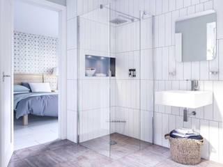 Bathroom CGI Visualisation #6 Classic style bathroom by White Crow Studios Ltd Classic Ceramic