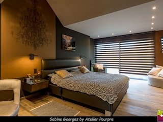 by Atelier Pourpre Design & Décoration SPRL Сучасний