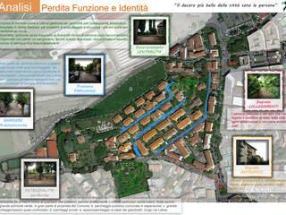 Concorso riqualificazione quartiere Santa Barbara a Colleferro (RM) di Francesca Ianni architetto