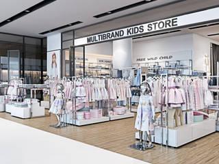 Multibrand kids store TSUM Kiev: Офисы и магазины в . Автор – Diff.Studio, Минимализм