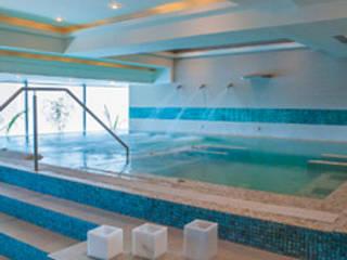 HOTEL LAS AMERICAS, Cartagena de Indias, Colombia Spa de estilo minimalista de Artspa Gunitec sas Minimalista
